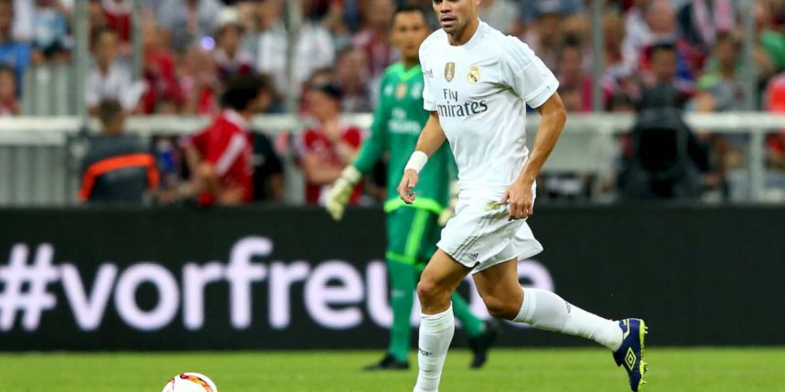 Pepe (Portugal, Real Madrid, 32 años) Foto: Getty Images