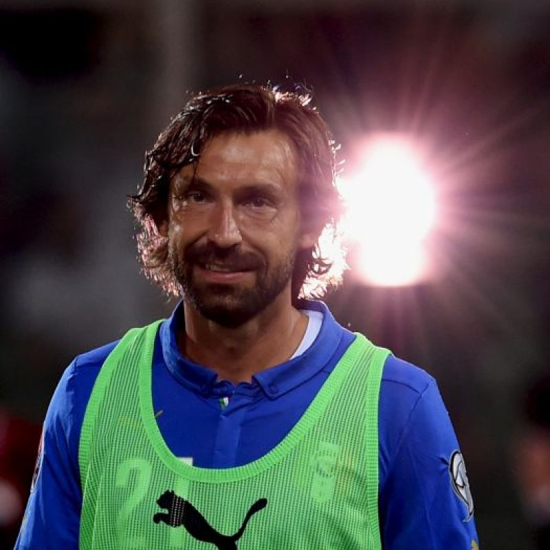 Andrea Pirlo (Italia, New York City, 36 años) Foto: Getty Images