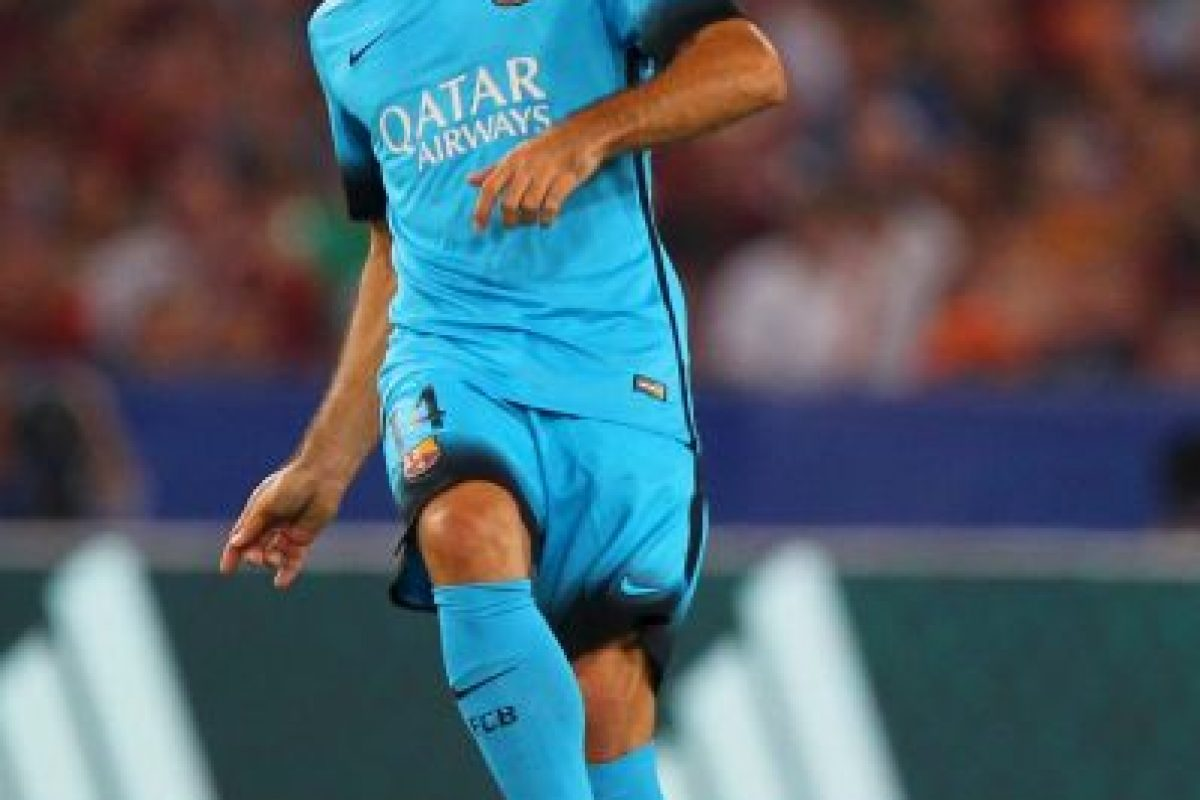 Javier Mascherano (Argentina, Barcelona, 31 años) Foto:Getty Images