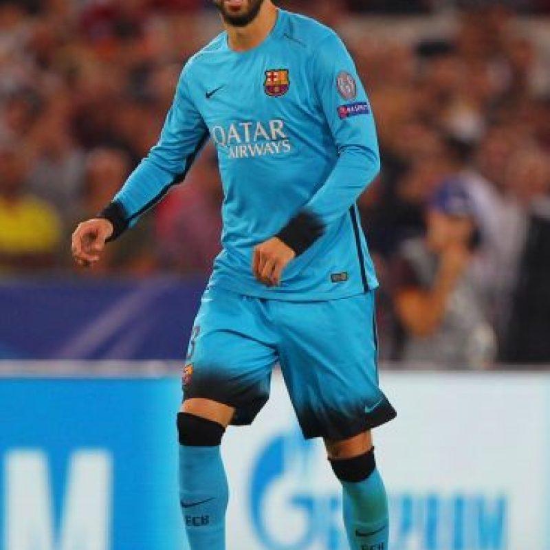 Gerard Piqué (España, Barcelona, 28 años) Foto:Getty Images