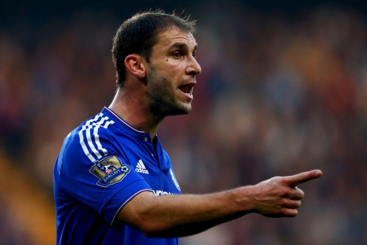 Branislav Ivanovic (Serbia, Chelsea, 31 años) Foto:Getty Images