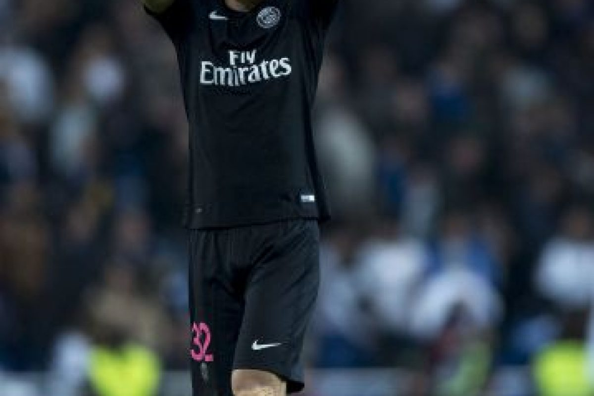 David Luiz (Brasil, PSG, 28 años) Foto:Getty Images