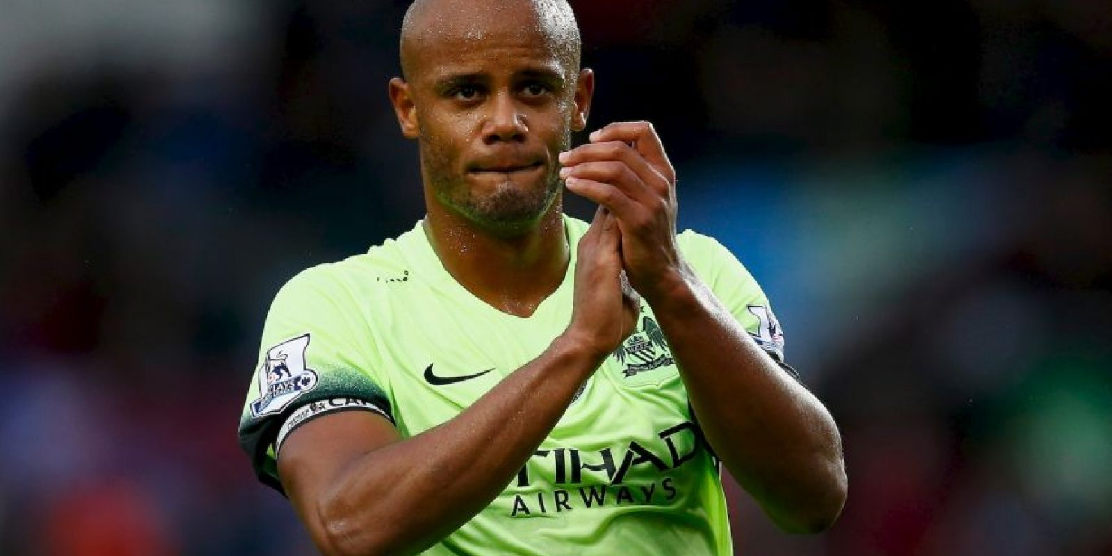 Vincent Kompany (Bçelgica, Manchester City, 29 años) Foto: Getty Images