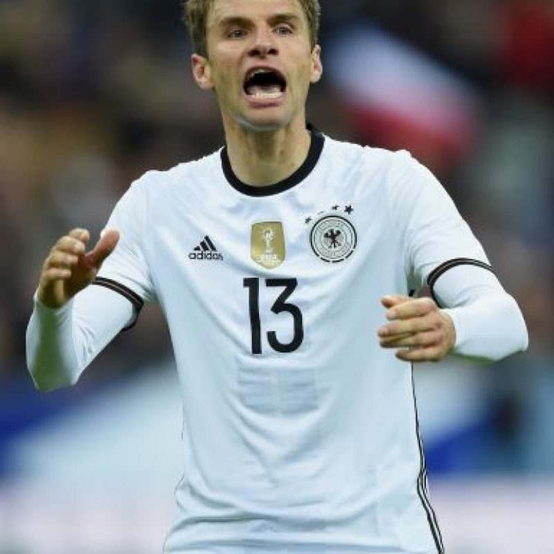 Thomas Müller (Alemania, Bayern Múnich, 26 años) Foto: Getty Images
