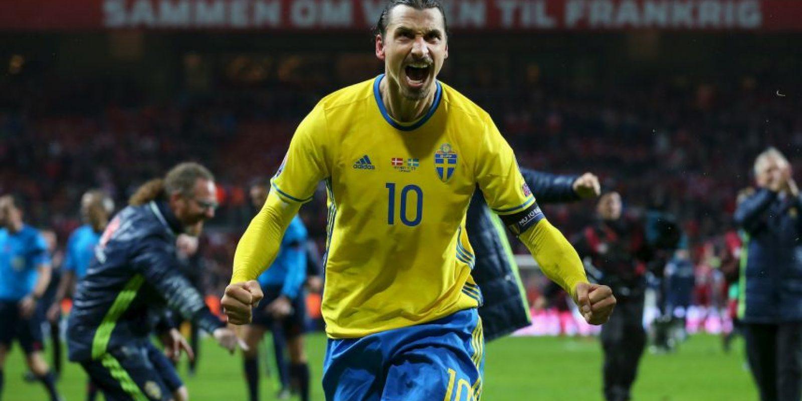Zlatan Ibrahimovic (Suecia, PSG, 34 años) Foto:Getty Images