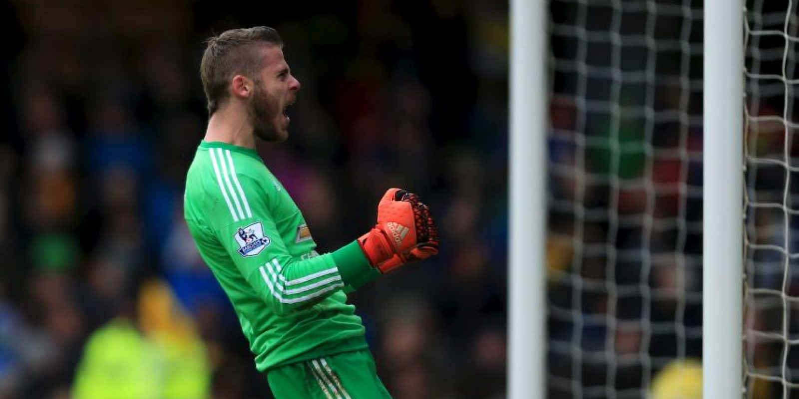 David De Gea (España, Manchester United, 25 años) Foto: Getty Images