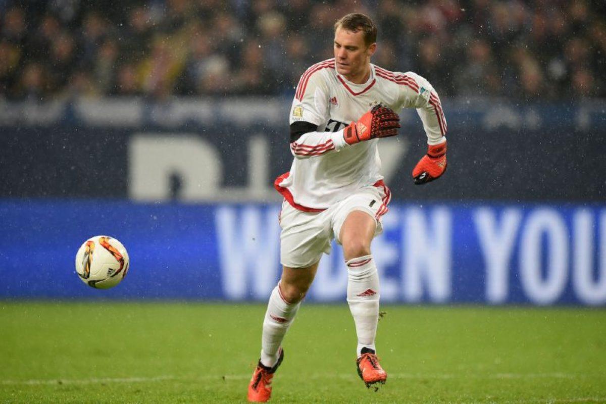 Porteros: Manuel Neuer (Alemania, Bayern Múnich, 29 años) Foto:Getty Images
