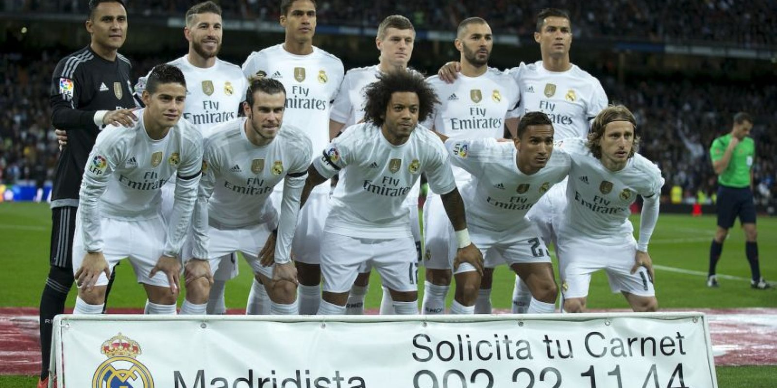 5. Real Madrid Foto: Getty Images