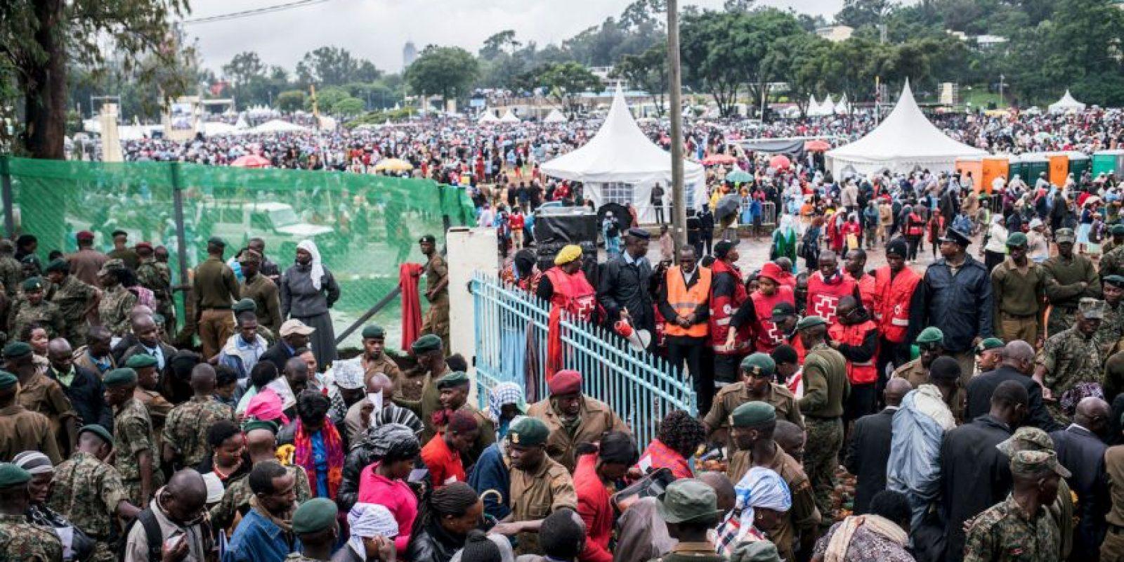 7. Actualmente dos misiones de paz trabajan en el lugar. Una lo es la Oficina de Paz Integrada de la ONU y la MISCA, (la Misión Internacional de Apoyo a la República Centroafricana). Foto:Getty Images