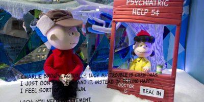 """""""Charlie Brown"""" y """"Snoopy"""", unos de los principales protagonistas Foto:AP"""