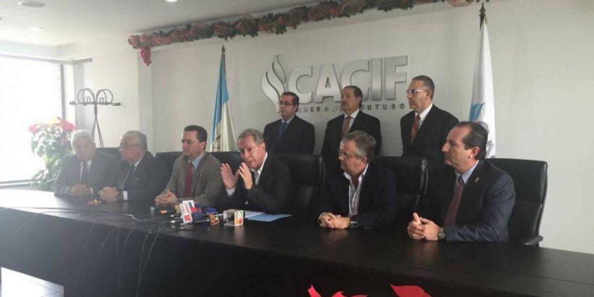 Cacif propone retomar antigua propuesta de la CICIG en seguridad y justicia