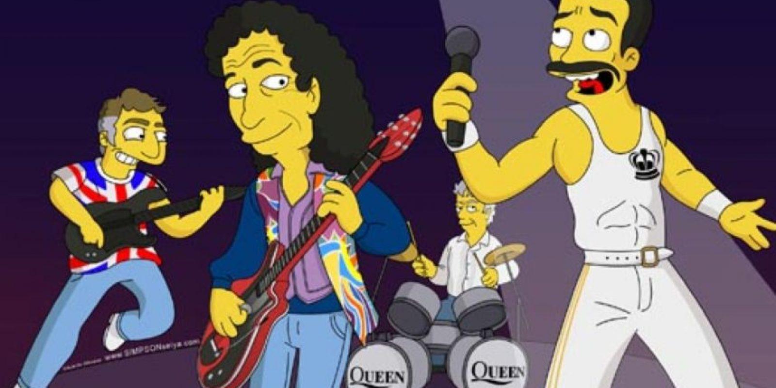 Muy reconocida por su música y por su cantante Freddie Mercury. Foto:Fox