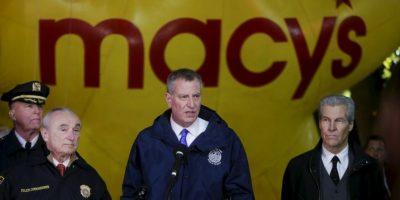 """""""Será un evento increíblemente seguro"""", destacó Bill de Blasio, alcalde de Nueva York. Foto:AP"""