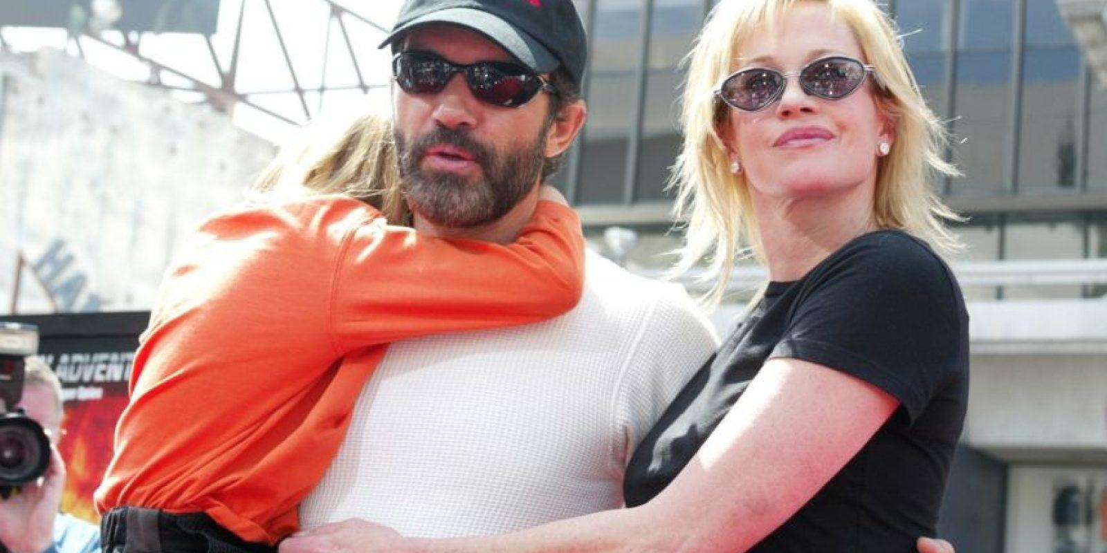 Stella es la hija de Antonio Banderas y Melanie Griffith. Foto:Getty Images