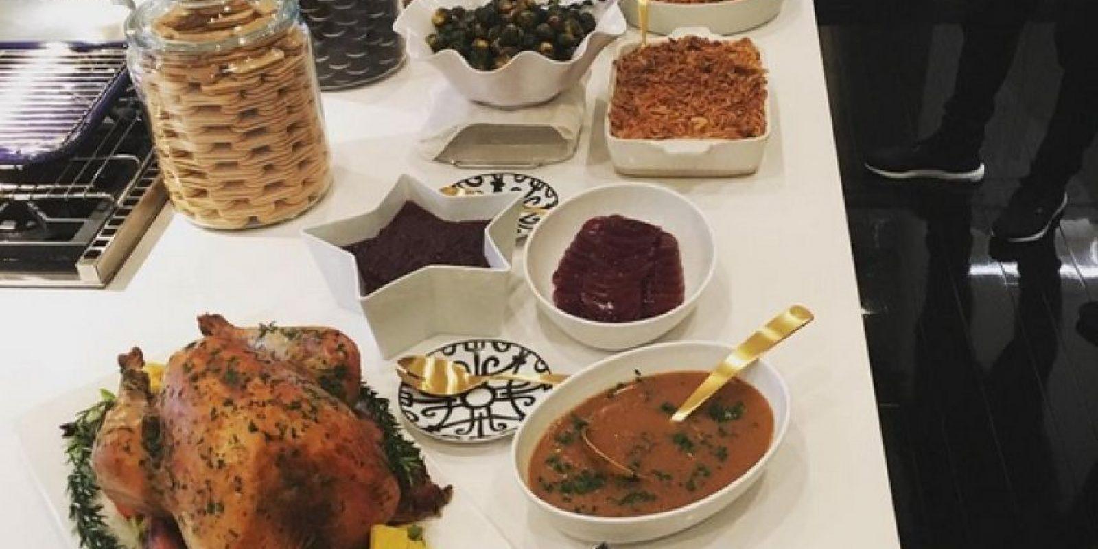 Khloé fue la encargada de preparar todos los platillos para la reunión familiar Foto:Instagram/khloekardashian