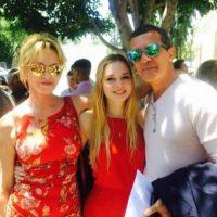 Pues debían celebrar la graduación de su retoño. Foto:vía instagram.com/antoniobanderasoficial