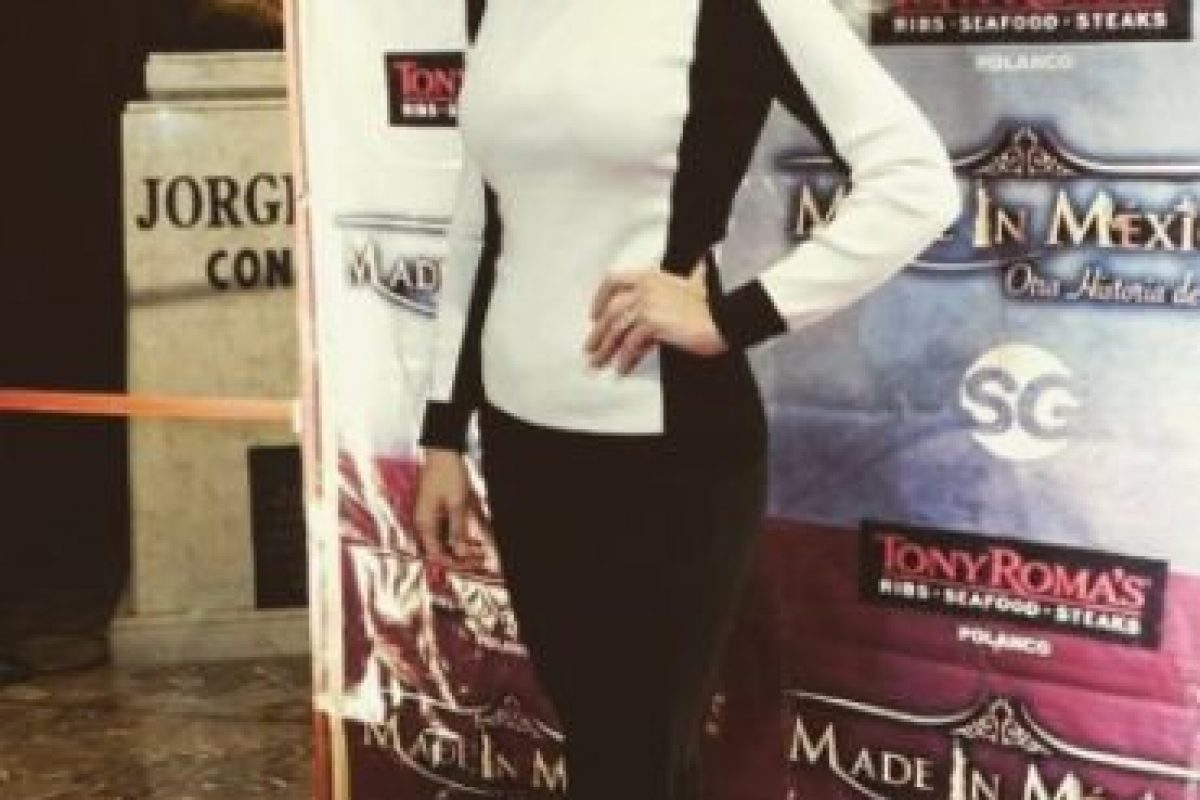 """La actriz actualmente colabora en la serie """"La Querida del Centauro"""". Foto:vía instagram.com/ludwika_paleta"""