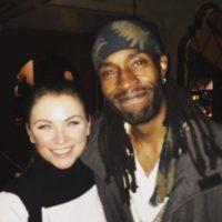 Aquí su reencuentro con Ludwika Paleta. Foto:vía instagram.com/ludwika_paleta