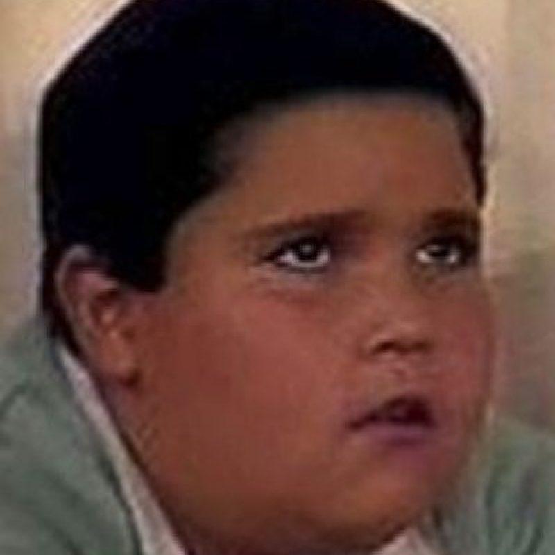 """Jorge Granillo es recordado como el travieso """"Jaime Palillo"""". Foto:vía Televisa"""