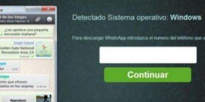 Piden el número telefónico y, al momento de descarga el software, instala un virus troyano en su PC para obtener sus datos bancarios. Foto:vía Tumblr.com