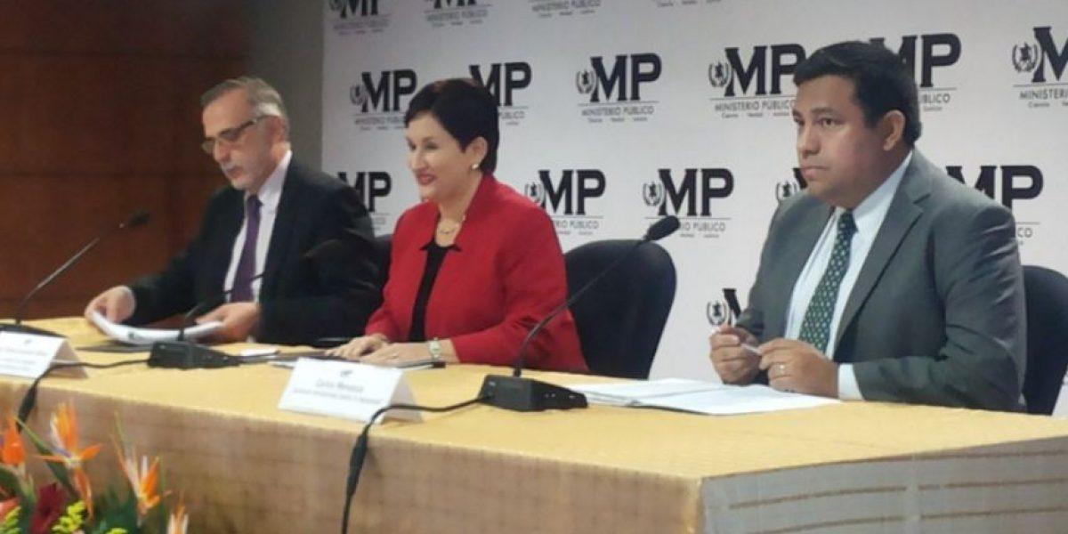CICIG y MP: Impunidad bajó 5% en seis años
