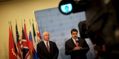 """""""Tenemos que seguir trabajando en la diplomacia bolivariana de paz, es la única vía. La paz es la principal victoria de Venezuela"""", aseguró Jorge Arreaza, vicepresidente del país. Foto:Getty Images"""