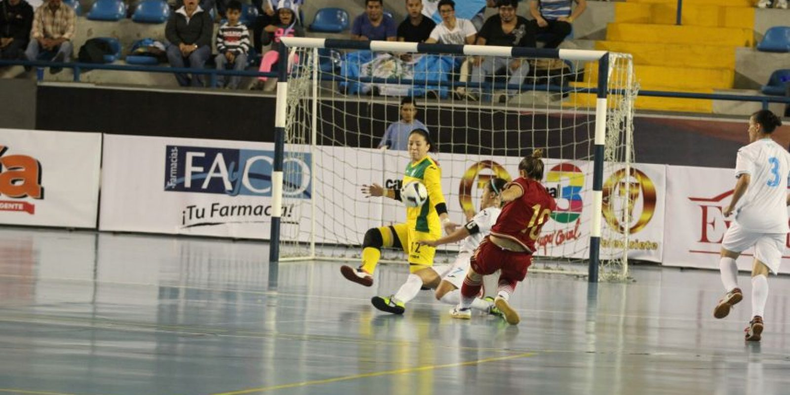 La selección de Guatemala terminó tercera en su grupo. Foto:CDAG