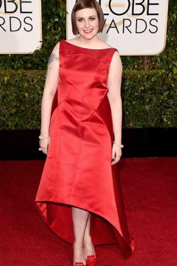 Sin contar acá: parecía jorobada. Foto:vía Getty Images