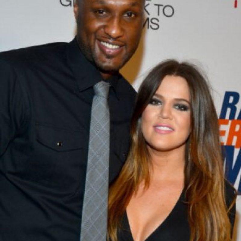 Khloé Kardashian solo obtuvo titulares y disgustos de su matrimonio con Lamar Odom. Foto:vía Getty Images