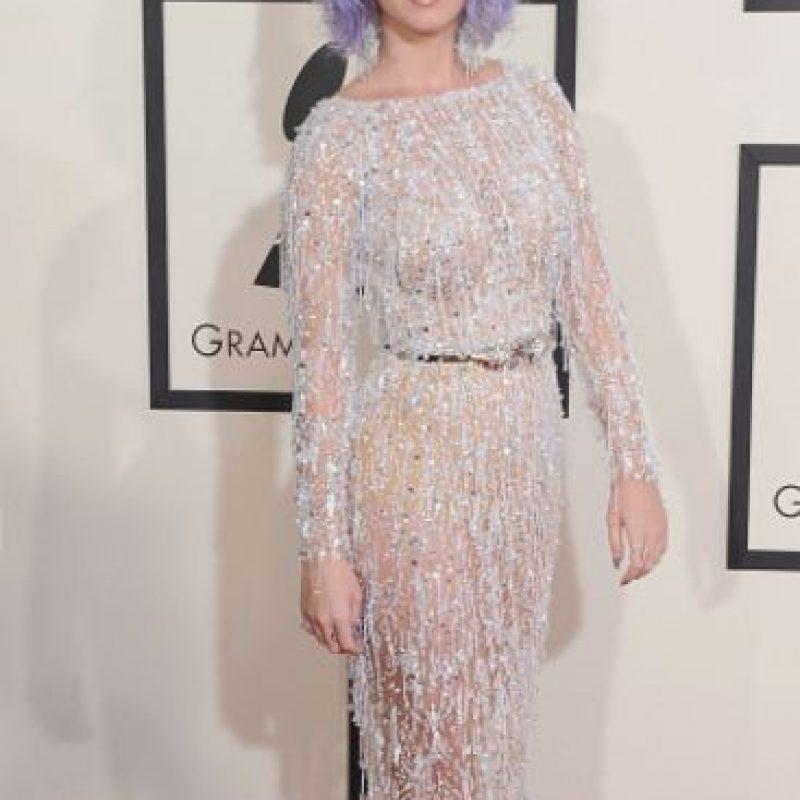 Así se le vio en los Grammy. Foto:vía Getty Images