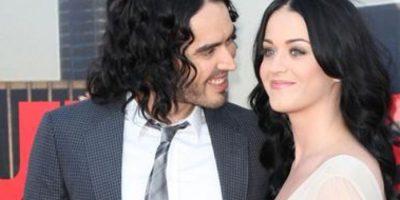 Katy Perry tuvo un matrimonio muy publicitado con Russell Brand. Foto:vía Getty Images