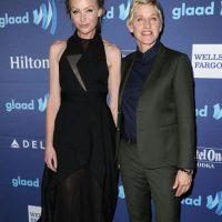 Portia De Rossi y Ellen DeGeneres conforman quizás la pareja de lesbianas más famosas de Hollywood. Foto:vía Getty Images