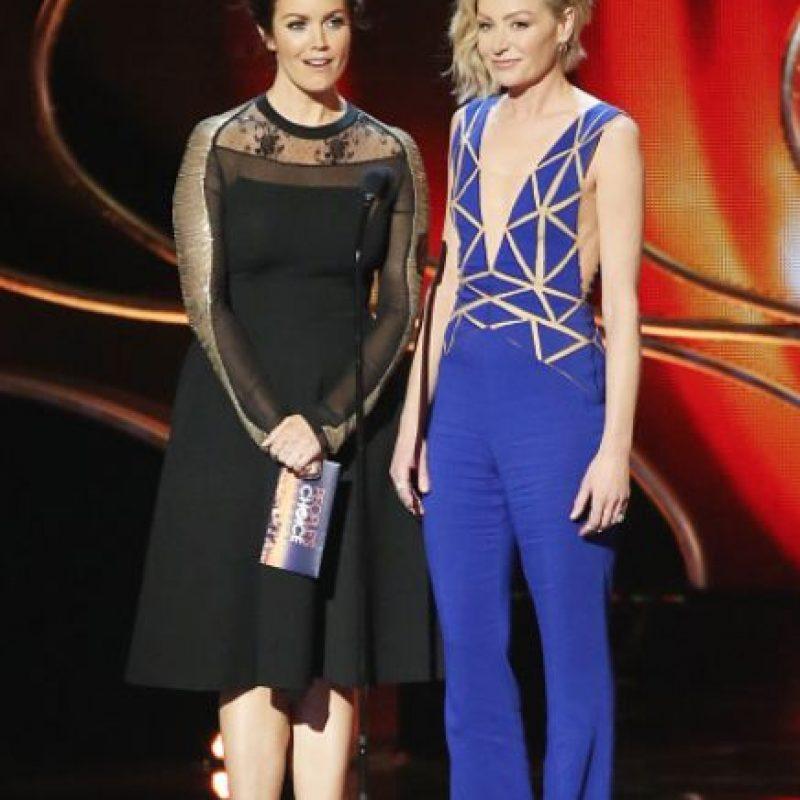 """Ella ha aparecido en """"Arrested Development"""" y """"Nip Tuck"""". Se casó con Ellen en 2008, cuatro años después de conocerse. Foto:vía Getty Images"""