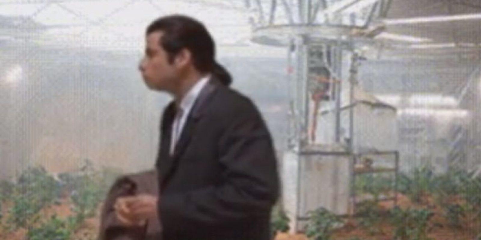 """Posteriormente, se hizo una parodia de """"Star Wars"""" con Travolta. Foto:vía Facebook"""