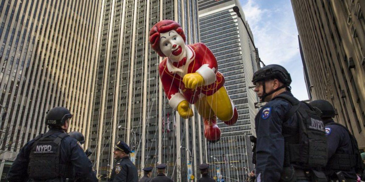Drone causa alarma en desfile de Macy