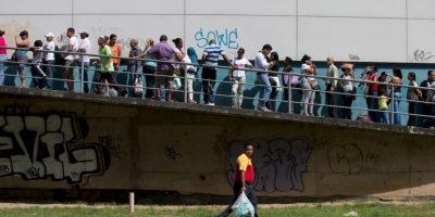 6. Economía: La caída libre venezolana Foto:Getty Images