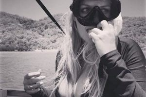 """Como este que hizo a Australia donde escribió: """"Vine con el equipaje de 48 horas y me quedé tres semanas"""". Foto:Instagram.com/Kitty.Spencer"""