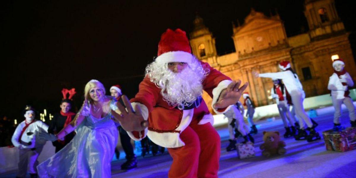 EN IMÁGENES. La navidad llega al centro histórico