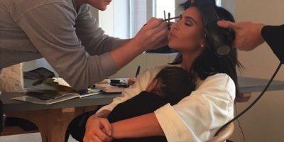 En el anterior cumpleaños de la socialité, su hija se encargó de preparar un original regalo. Foto:vía instagram.com/kimkardashian