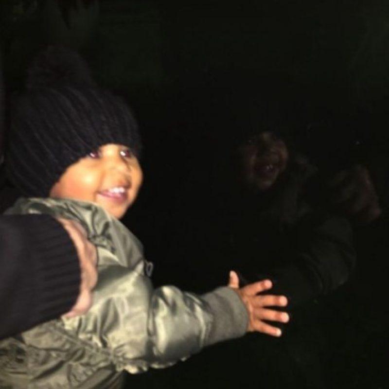 """En meses anteriores, """"Nori"""" tiró accidentalmente el celular de su padre al inodoro Foto:vía instagram.com/kimkardashian"""