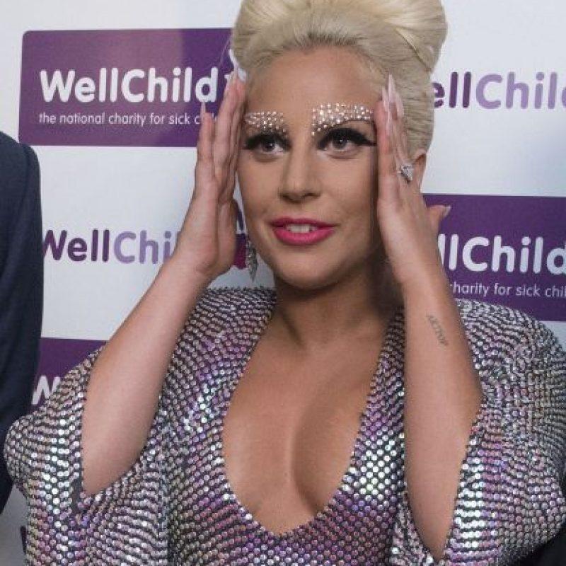 """En junio, la cantante lució este vestido brillante para el concierto benéfico """"WellChild"""" Foto:Getty Images"""