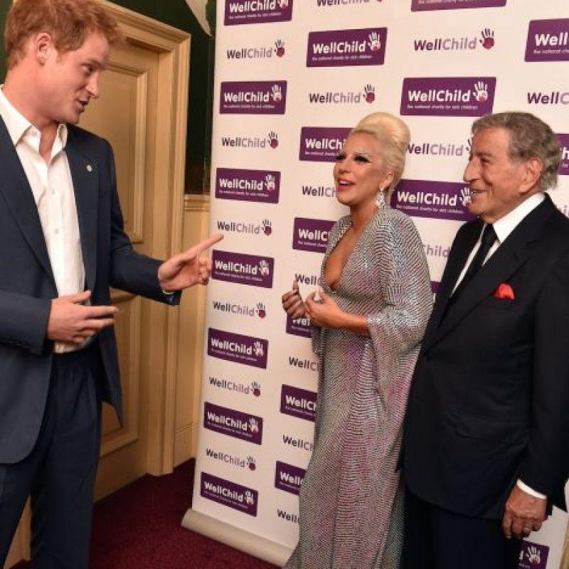 ¿Demasiada piel, Harry? Foto:Getty Images