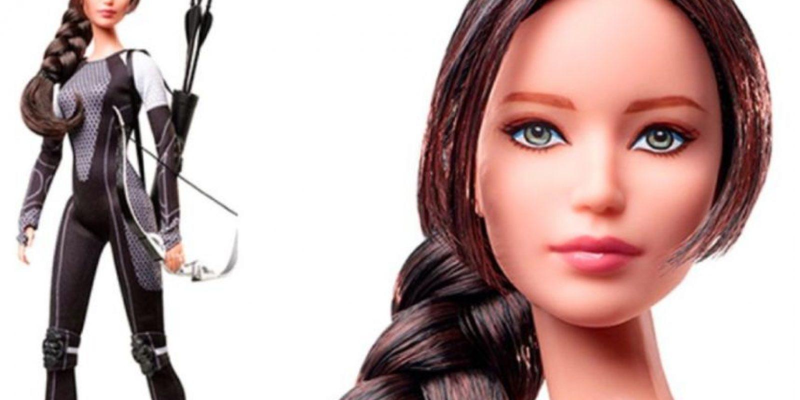 """Así, en """"Los Juegos del Hambre"""". Foto:vía Mattel"""