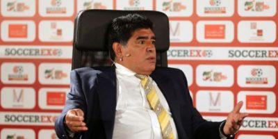 Como jugador se coronó en el Mundial de México 1986. Foto:Getty Images