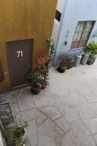 """La casa de la """"Bruja del 71"""" Foto:Nicolás Corte"""