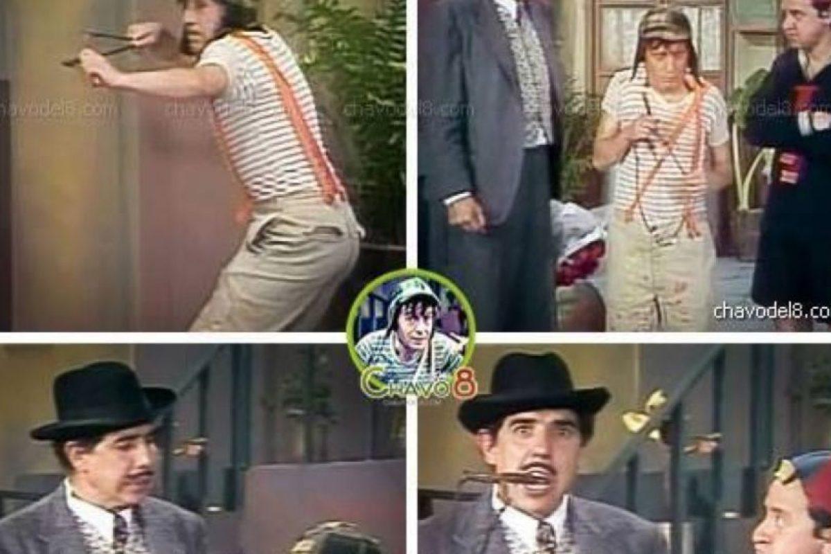 """Algunos argumentos de la misma eran del propio """"Chespirito"""". Foto:El Chavo del Ocho/Facebook"""