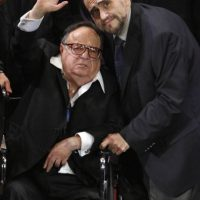 """En su primer aniversario luctuoso, Edgar Vivar, el entrañable """"Señor Barriga"""" rindió un emotivo homenaje a su amigo """"Chespirito"""". Foto:Grosby Group"""