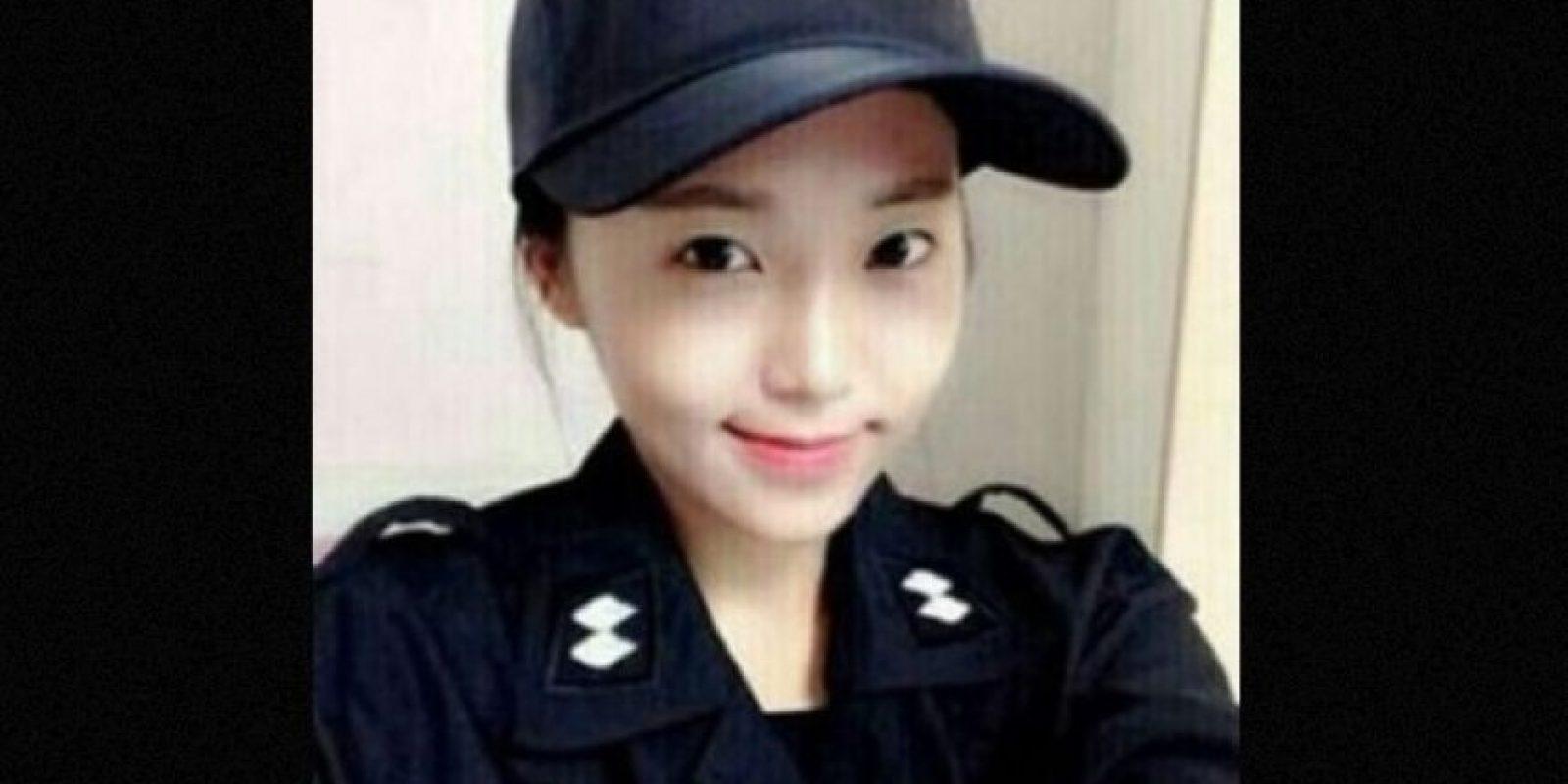 1. Ella podría ser la policía más guapa de Corea del Sur Foto:Twitter.com – Archivo
