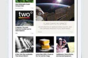 News también soporta fotos y video. Foto:Apple
