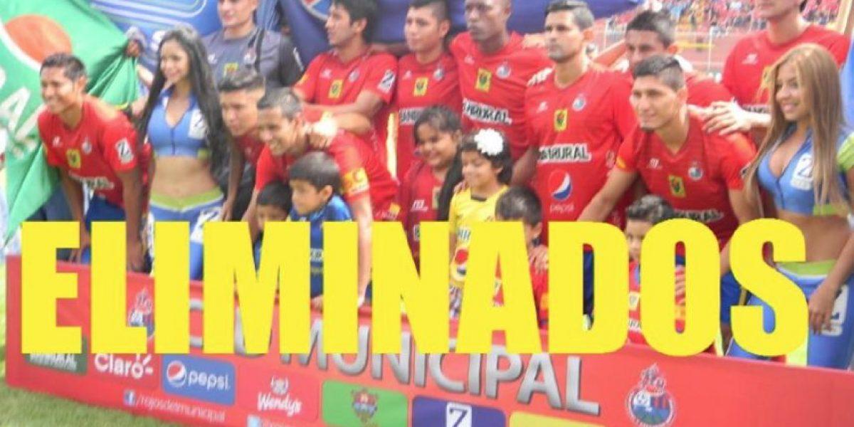 Se burlan de la eliminación de Municipal del Apertura 2015